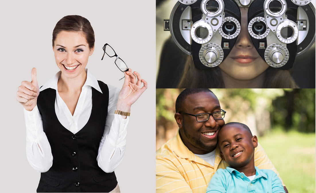 Glasses, Contacts, Eye Exams